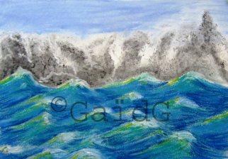 GaidG - Tempête en vue - Pastel 30x20 cm