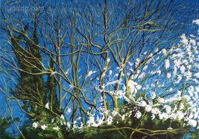 Renaissance - Acrylique sur toile - 100x70 cm
