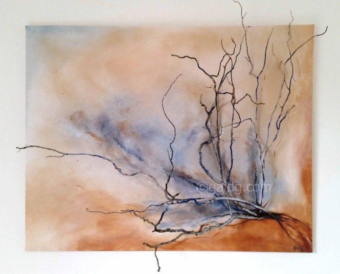 GaidG - branches - 92x73cm