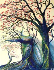 Famille - Acrylique sur toile - 92x73 cm