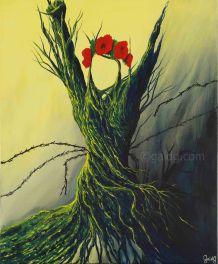 Freedom - Acrylique sur toile - 50x61 cm