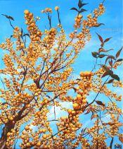 Fin d'automne généreux - Acrylique sur toile -46x38 cm