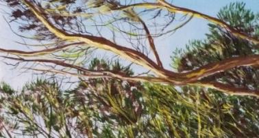 GaidG - Fin de journée - 46x38 cm détail 1