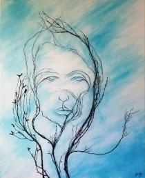GaidG - Patience - 81x100 cm