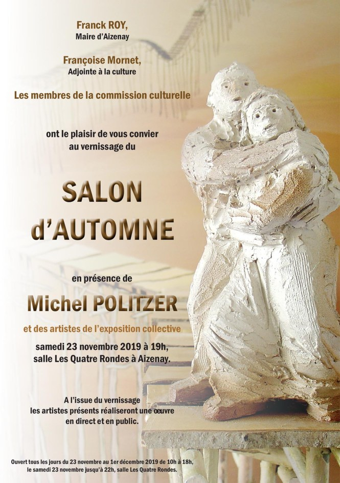 INVITATION vernissage Salon dAutomne2019