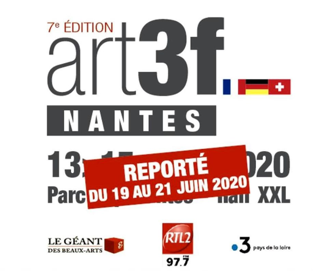 salon art3f reporté